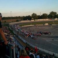 Photo taken at Toledo Speedway by Peter M. on 9/29/2012