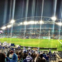 Photo taken at ANZ Stadium by KAGE on 5/24/2013