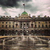 Photo taken at Somerset House by Chris T. on 6/13/2013