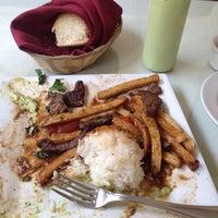 Photo taken at Mamita Peruvian Restaurant by Yosi F. on 5/16/2013