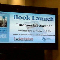 Photo taken at Freedom Institute Public Library by enita r. on 5/27/2015