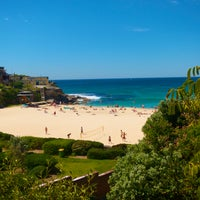 Photo taken at Tamarama Beach by Antonio D. on 10/22/2012