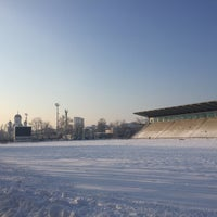"Photo taken at Stadionul Național de Rugby ""Arcul de Triumf"" by Theodor S. on 1/23/2016"