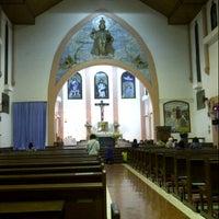 Photo taken at Gereja Katolik Kristus Raja by Junardi H. on 11/2/2012