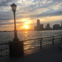 Photo taken at Hudson River Promenade by Dan K. on 7/18/2016