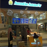 Photo taken at Auntie Anne's by Azhar I. on 2/14/2016