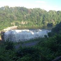 Photo taken at Lower Falls Park by Vashon B. on 8/4/2013