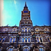 Photo taken at Georgetown University by Kyle D. on 10/10/2012
