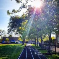 Photo taken at Chase Park Track by Andrew H. on 5/19/2016