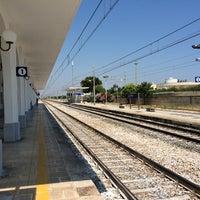 Photo taken at Stazione di Ostuni by Mambu on 6/14/2014