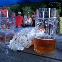 Photo taken at Capital Brewery & Bier Garten by Andrew C. on 7/14/2013