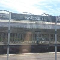 Photo taken at Eastbourne Railway Station (EBN) by Graeme E. on 4/22/2013