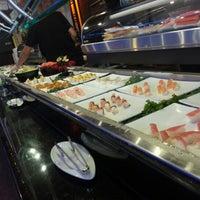 Photo taken at Sakura Japanese Buffet by Pete M. on 9/23/2012
