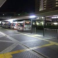 Photo taken at 京阪守口市駅 バスターミナル by ei2ei2_feather on 10/4/2016