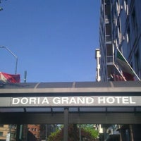 Photo taken at Doria Grand Hotel by Claudio F. on 5/27/2013
