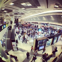 Photo taken at Doha International Airport (DOH) مطار الدوحة الدولي by Valentin-Narcis S. on 10/3/2012