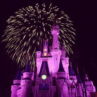 Photo taken at Wishes Nighttime Spectacular by Dominick M. on 7/15/2013