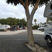Photo taken at Anaheim RV Park by Hide* K. on 11/15/2014