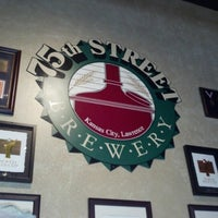 Photo taken at 75th Street Brewery by Andrew G. on 10/27/2012