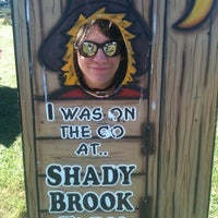 Photo taken at Shady Brook Farm by Alison W. on 10/13/2012