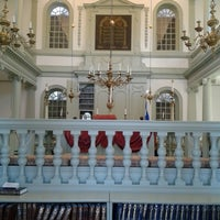 Photo taken at Touro Synagogue by Jason W. F. on 9/14/2014