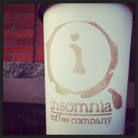 Photo taken at Insomnia Coffee Company by Jenn R. on 9/16/2014