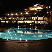 Photo taken at Hilton Bodrum Türkbükü Resort & Spa by Mehmet M. on 6/6/2013