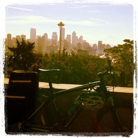 Photo taken at Kerry Park by Matthew A. on 10/1/2012