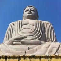 Photo taken at Great Buddha Statue by Satoshi U. on 10/14/2012