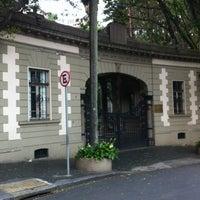 Photo taken at Iate Clube de Santos by Fernando D. on 12/26/2012