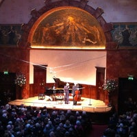 Photo taken at Wigmore Hall by András N. on 12/2/2012