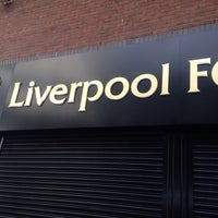 Photo taken at Liverpool FC Official Club Store by Marcelo L. on 8/10/2014