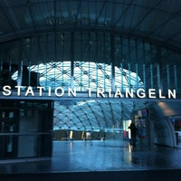 Photo taken at Station Triangeln (J) by Christina J. on 1/3/2013