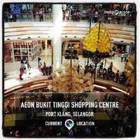 Photo taken at AEON Bukit Tinggi Shopping Centre by Apai T. on 7/28/2013