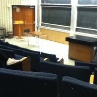 Photo taken at NYU Meyer Hall by Sage Y. on 10/26/2012