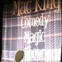 Photo taken at The Mac King Comedy Magic Show by Matthew C. on 10/30/2012