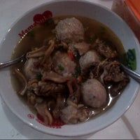 Photo taken at Bakso Kikil Seruni by Diann P. on 11/11/2012