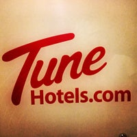 Photo taken at Tune Hotels by Eyrique G. on 11/24/2012