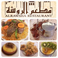 Photo taken at Al-Rawsha Restaurant by Eyrique G. on 11/21/2014