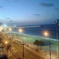 Photo taken at Avenida Beira Mar by Nathalia V. on 10/16/2012
