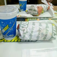 Photo taken at Subway by Priscila S. on 3/15/2013