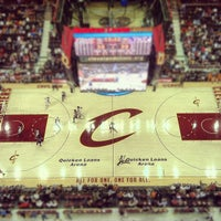 Photo taken at Quicken Loans Arena by Jon M. on 11/28/2012