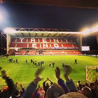 Photo taken at The City Ground by Dave R. on 1/5/2013