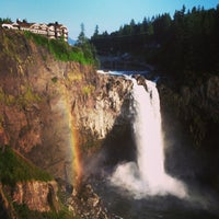 Photo taken at Snoqualmie Falls by Laurel M. on 7/21/2013