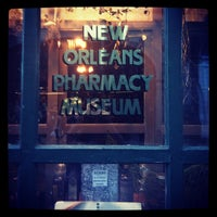 Photo taken at New Orleans Pharmacy Museum by Ariel R. on 10/21/2012