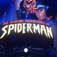 Photo taken at The Amazing Adventures of Spider-Man by Francisco S. on 3/29/2013