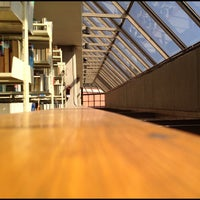 "Photo taken at Biblioteca ""C. P. Alfredo Adam Adam"" by Veneno R. on 10/3/2012"
