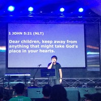 Photo taken at His Life City Church by Janina G. on 10/18/2015