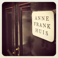 Photo taken at Anne Frank House by Gabriel G. on 6/9/2013