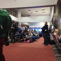 Photo taken at Gate C41 by Collin W. on 12/3/2013
